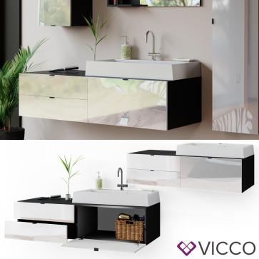 Vicco Waschtisch mit Waschbecken Bora hängend