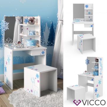Vicco Kinderschminktisch Weiß