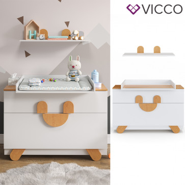 Vicco Wickelkommode Set Compo-Serie