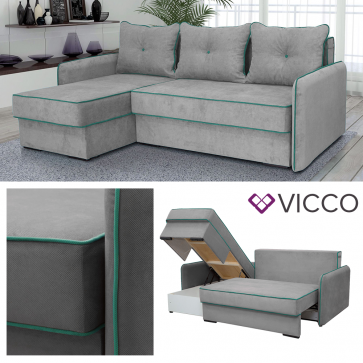 VICCO Ecksofa KANSAS Links