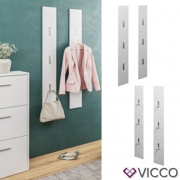 VICCO Garderobenpaneel BIANCA weiß