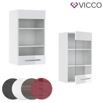 VICCO Hängeglasschrank 40cm FAME-LINE