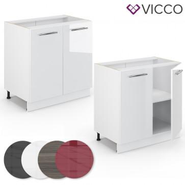 VICCO Küchenunterschrank 80cm FAME-LINE