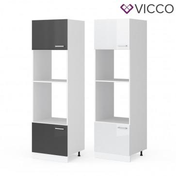 VICCO Mikrowellenumbauschrank 60 cm R-Line