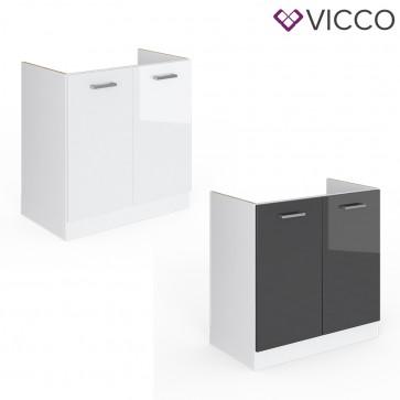 VICCO Spülenunterschrank 80 cm R-Line