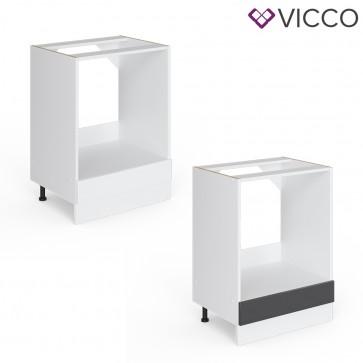 VICCO Herdumbauschrank 60 cm R-Line