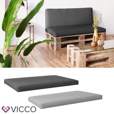 VICCO Palettenkissen Sitzkissen 120x80x15 Palettenmöbel PU Schaum