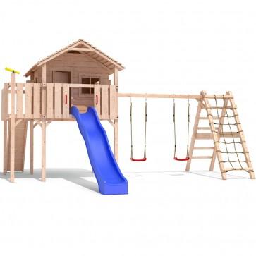 Spielturm Colino Stelzenhaus Holzspielhaus auf 1,50m Podesthöhe