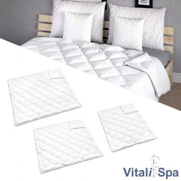 VitaliSpa Bettdecke Weiß Winterdecke