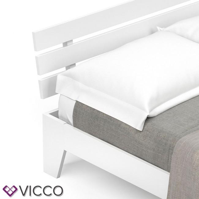 vicco futonbett korfu wei 140x200. Black Bedroom Furniture Sets. Home Design Ideas