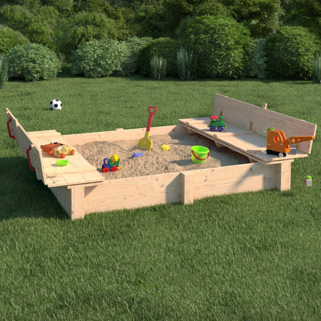 xxl sandkasten daggy. Black Bedroom Furniture Sets. Home Design Ideas