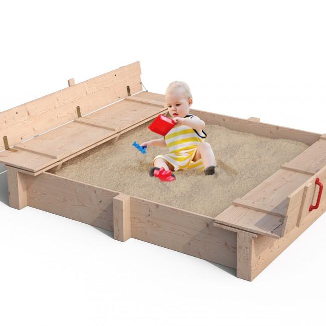sandkasten mit abdeckung interesting kriba sandkasten mit. Black Bedroom Furniture Sets. Home Design Ideas