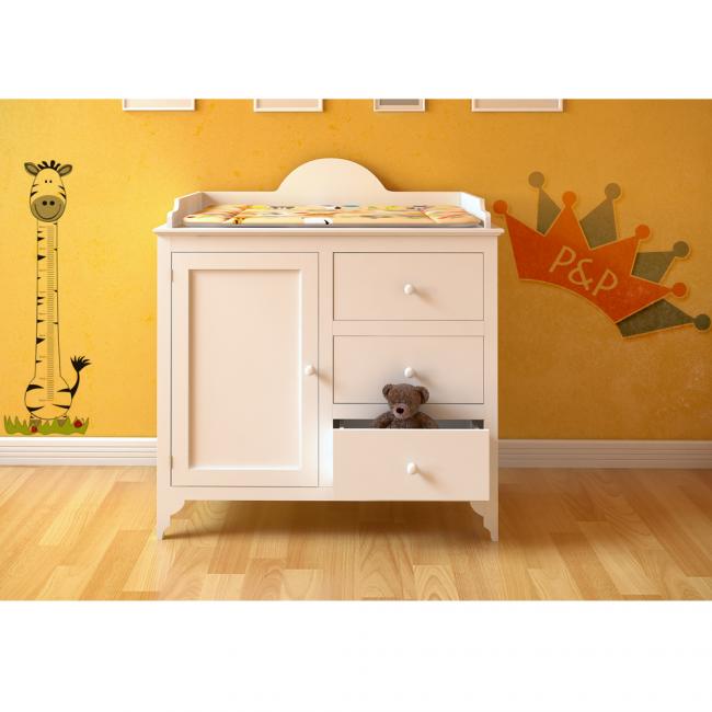 wickelkommode wei wickeltisch kommode wickelaufsatz baby wickelauflage. Black Bedroom Furniture Sets. Home Design Ideas