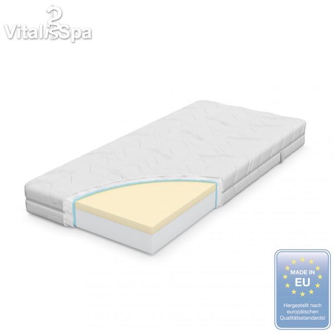 premium komfort viscoelastische orthop dische vitalispa. Black Bedroom Furniture Sets. Home Design Ideas