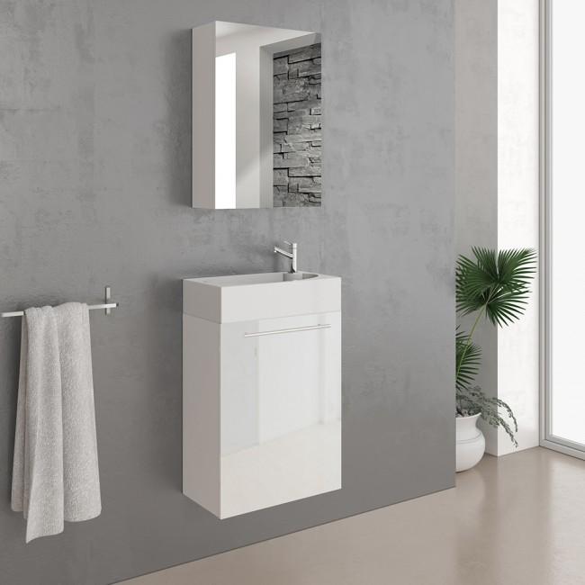 vicco badm bel set waschplatz 45 cm wei. Black Bedroom Furniture Sets. Home Design Ideas