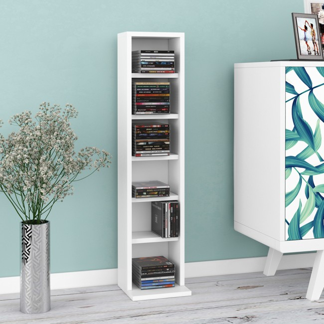 cd regal tower xxl wei. Black Bedroom Furniture Sets. Home Design Ideas