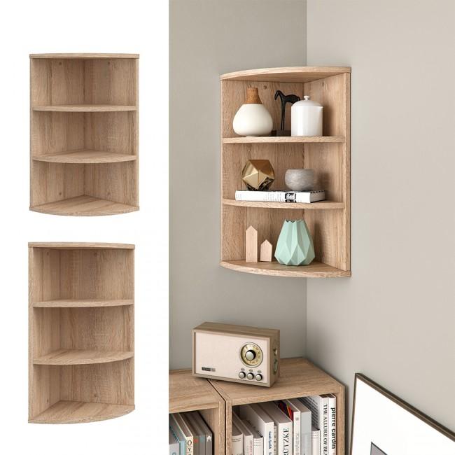 eckregal regal f r die ecke. Black Bedroom Furniture Sets. Home Design Ideas