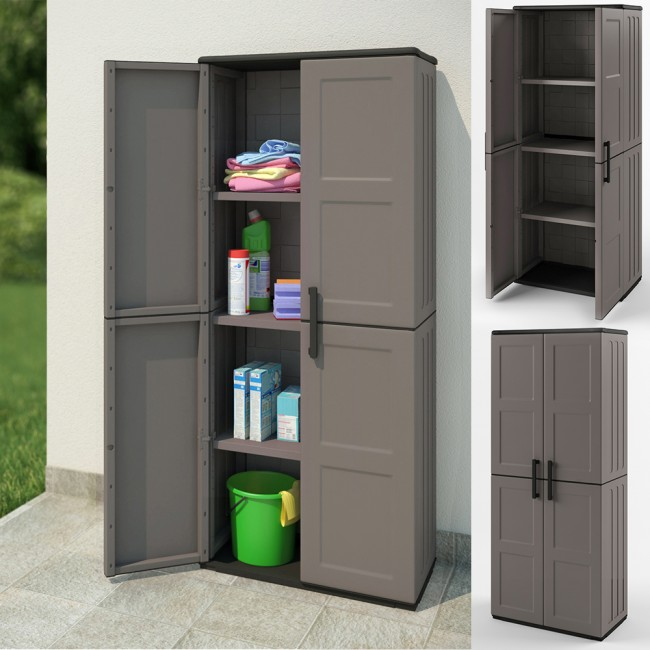 werkzeugschrank kunststoffschrank putzmittel schrank. Black Bedroom Furniture Sets. Home Design Ideas