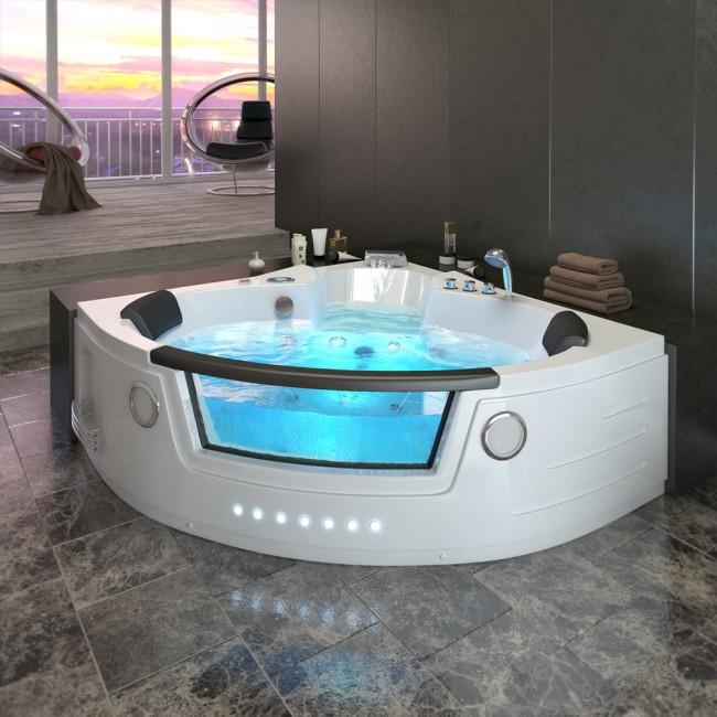 whirlpool eckbadewanne. Black Bedroom Furniture Sets. Home Design Ideas