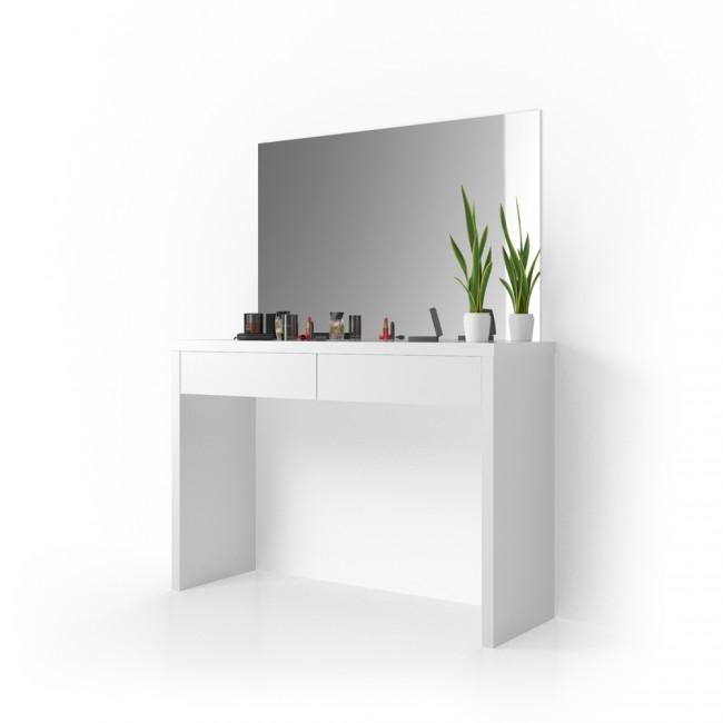 schminktisch mit spiegel viola wei. Black Bedroom Furniture Sets. Home Design Ideas