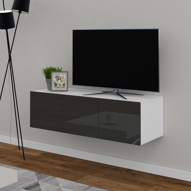 sideboard cumulus anthrazit hochglanz. Black Bedroom Furniture Sets. Home Design Ideas