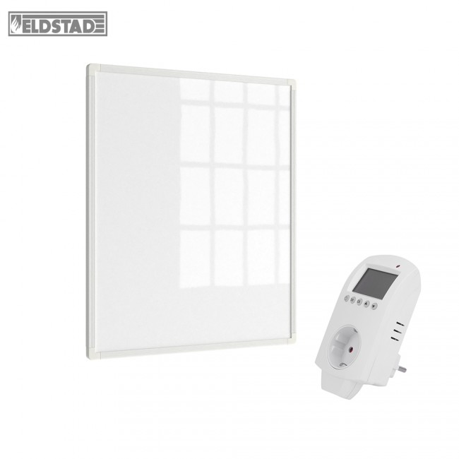 eldstad infrarotheizung 300 watt thermostat. Black Bedroom Furniture Sets. Home Design Ideas