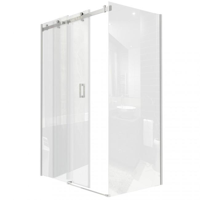 Duschabtrennung schiebetür kunststoff  Duschabtrennung Kunststoff: Duschen amp duschkabinen auf hagebau ...