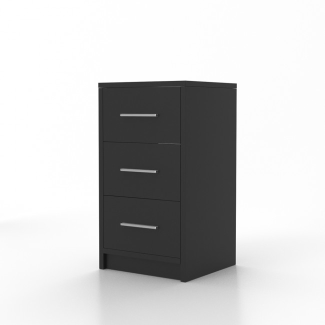 vicco nachtschrank f r boxspringbett schwarz 2er set. Black Bedroom Furniture Sets. Home Design Ideas