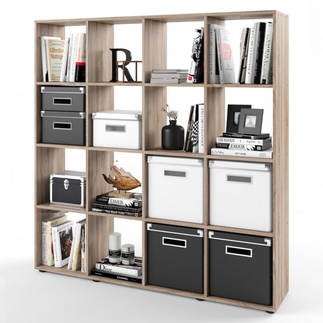 raumteiler karree 140 x 140 cm eiche sonoma. Black Bedroom Furniture Sets. Home Design Ideas