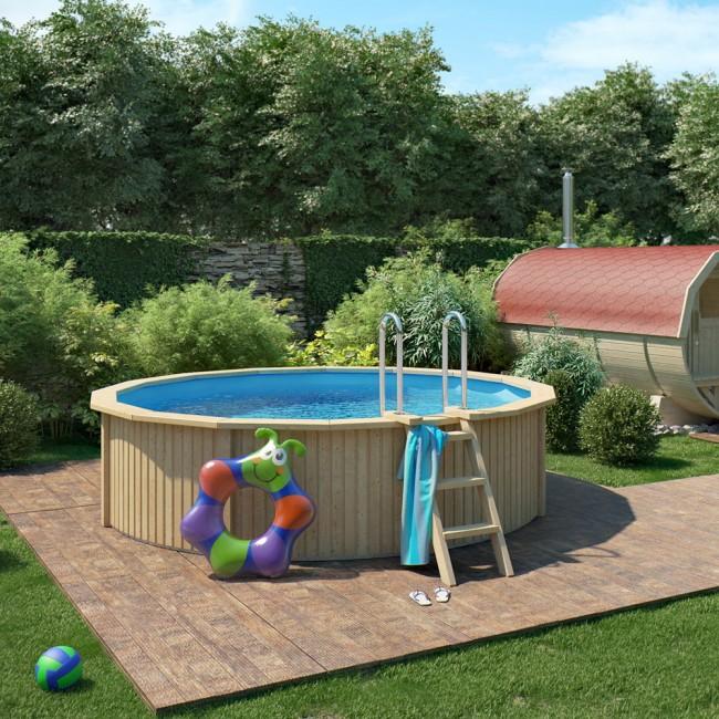 pool mit stahlwand holzpool mathys ag pool mit stahlwand kj26 hitoiro r der swimmingpools. Black Bedroom Furniture Sets. Home Design Ideas