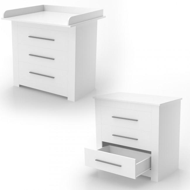 wickeltisch wickelkommode wickelregal kommode babym bel wei. Black Bedroom Furniture Sets. Home Design Ideas