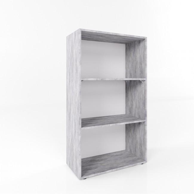 vicco b cherregal easy 117 x 60 cm grau beton. Black Bedroom Furniture Sets. Home Design Ideas