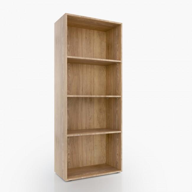 vicco b cherregal easy 155 x 60 cm eiche sonoma. Black Bedroom Furniture Sets. Home Design Ideas