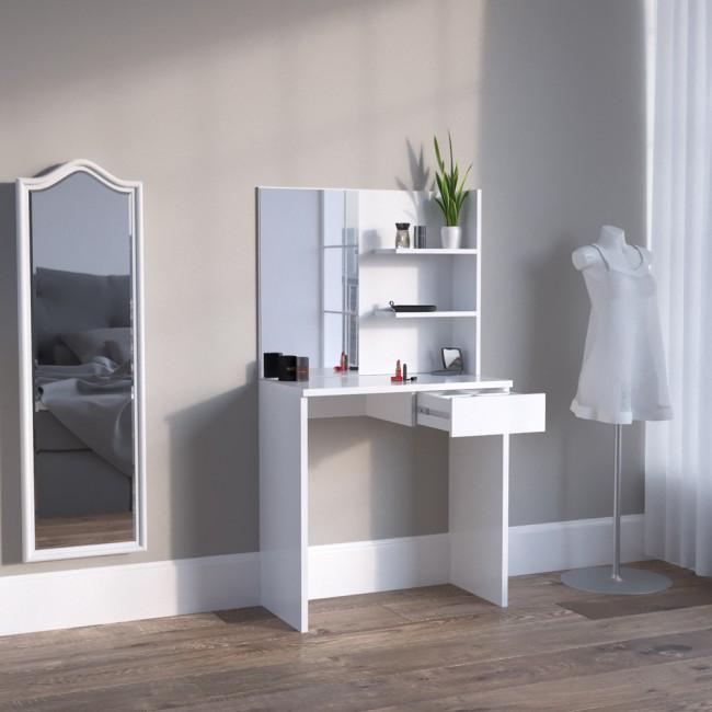 schminktisch kosmetiktisch dekos wei. Black Bedroom Furniture Sets. Home Design Ideas