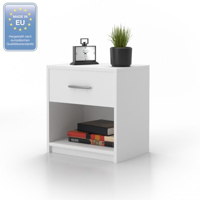 vicco 2x nachtschrank pepe wei. Black Bedroom Furniture Sets. Home Design Ideas
