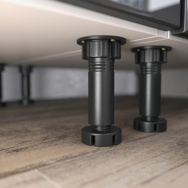 k chenzeile 295cm hochglanz s line. Black Bedroom Furniture Sets. Home Design Ideas