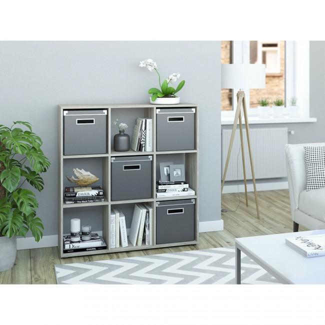 raumteiler nove 105 x 105 cm eiche sonoma. Black Bedroom Furniture Sets. Home Design Ideas