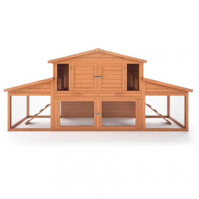 hasenstall kleintierk fig xxl. Black Bedroom Furniture Sets. Home Design Ideas