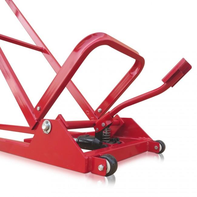 hebevorrichtung 400 kg hydraulisch rasentraktor heber hebeb hne reinigungshilfe. Black Bedroom Furniture Sets. Home Design Ideas