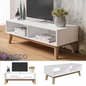 VICCO Lowboard MICA weiß
