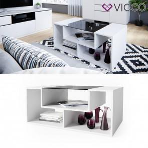 VICCO Couchtisch Gabriel Weiß 100 cm