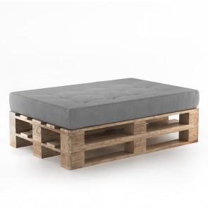 Palettenkissen Set Sitzkissen+ Paletten Grau
