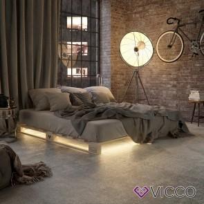 VICCO Palettenbett 100x200