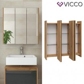 VICCO Spiegelschrank MAJEST Front Hochglanz Badspiegel Badezimmer Spiegel