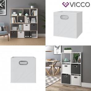 VICCO Faltbox 2er Set weiß