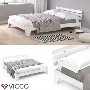 VICCO Futonbett TILOS weiß 180x200
