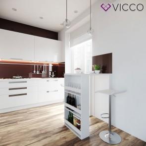 VICCO Bartisch weiß klein