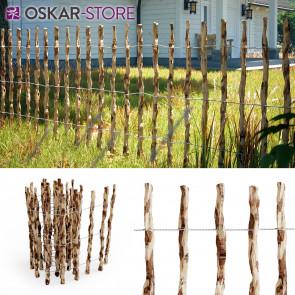 Staketenzaun Holzzaun Gartenzaun 500cm 80cm hoch