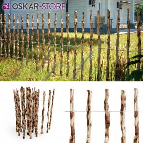 Staketenzaun Holzzaun Gartenzaun 500cm 90cm hoch