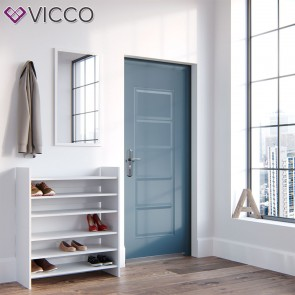 VICCO Schuhregal 2er Set weiß